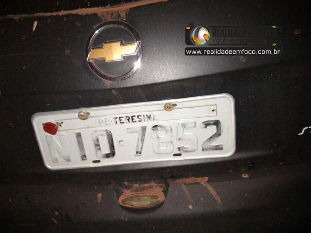 Carro roubado em Teresina