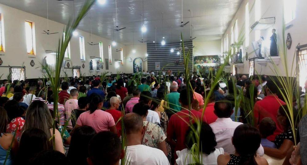 Procissão de Ramos em Barras Piauí