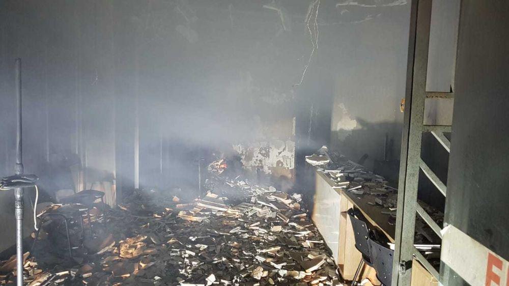 Agência bancária e estúdio fotográfico pegam fogo em Picos