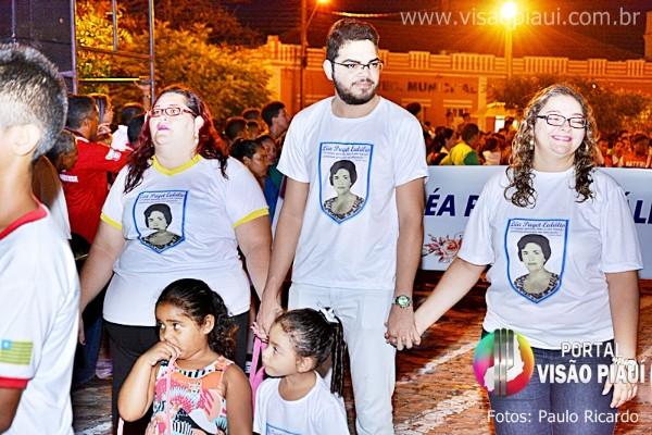 Desfile Cívico do 7 de Setembro em Barras