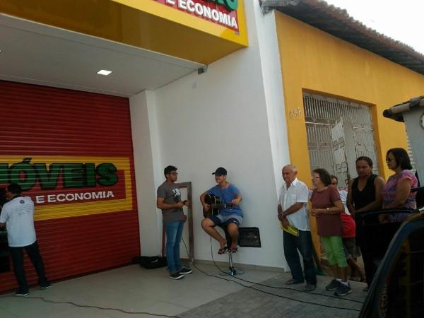 Inauguração da Loja Centro Móveis