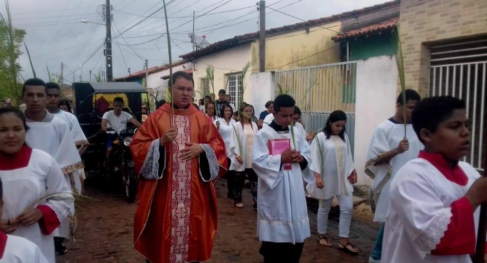 Domingo de Ramos em Barras - 2019