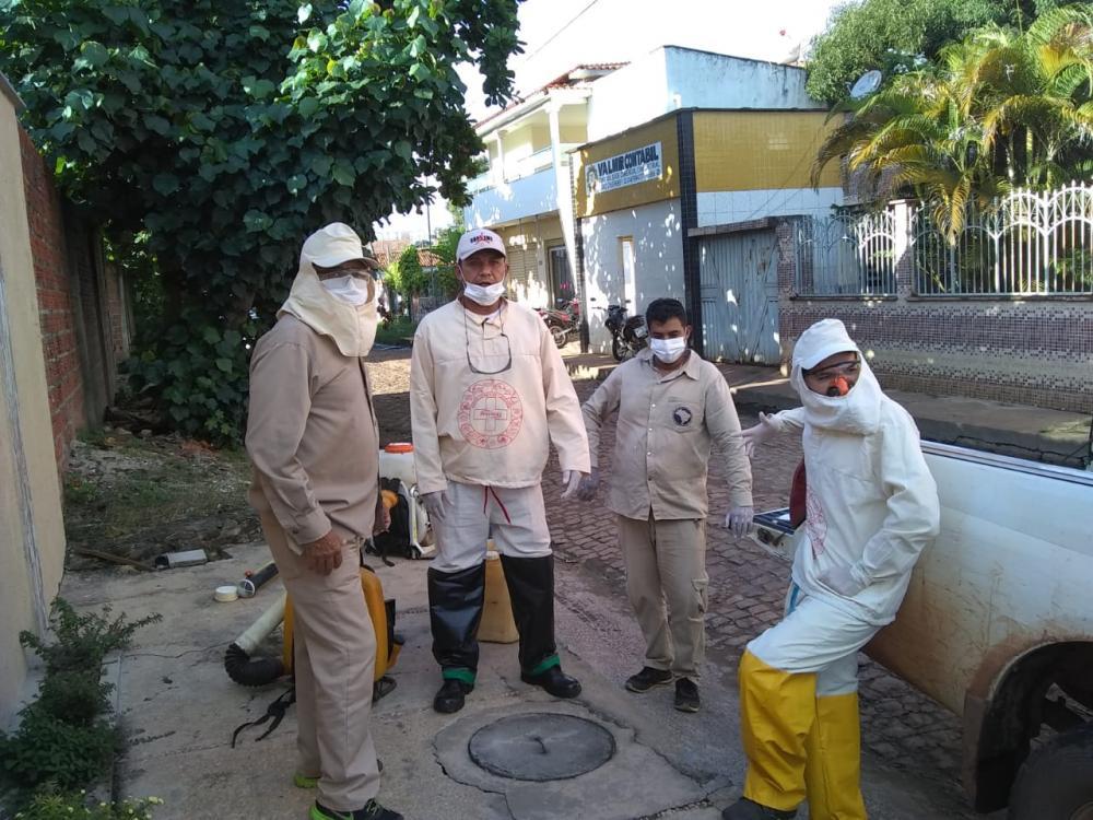 Agentes se mobilizam no combate ao Aedes Aegypti