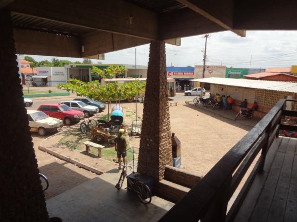 Terminal Rodoviário de onde a jovem teria saído.