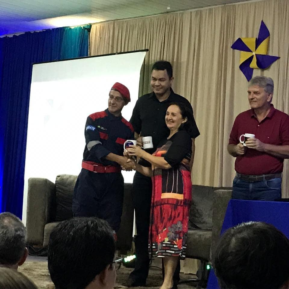 Gav é homenageado na VI Feira de Empreededorismo da Chrisfapi em Piripiri