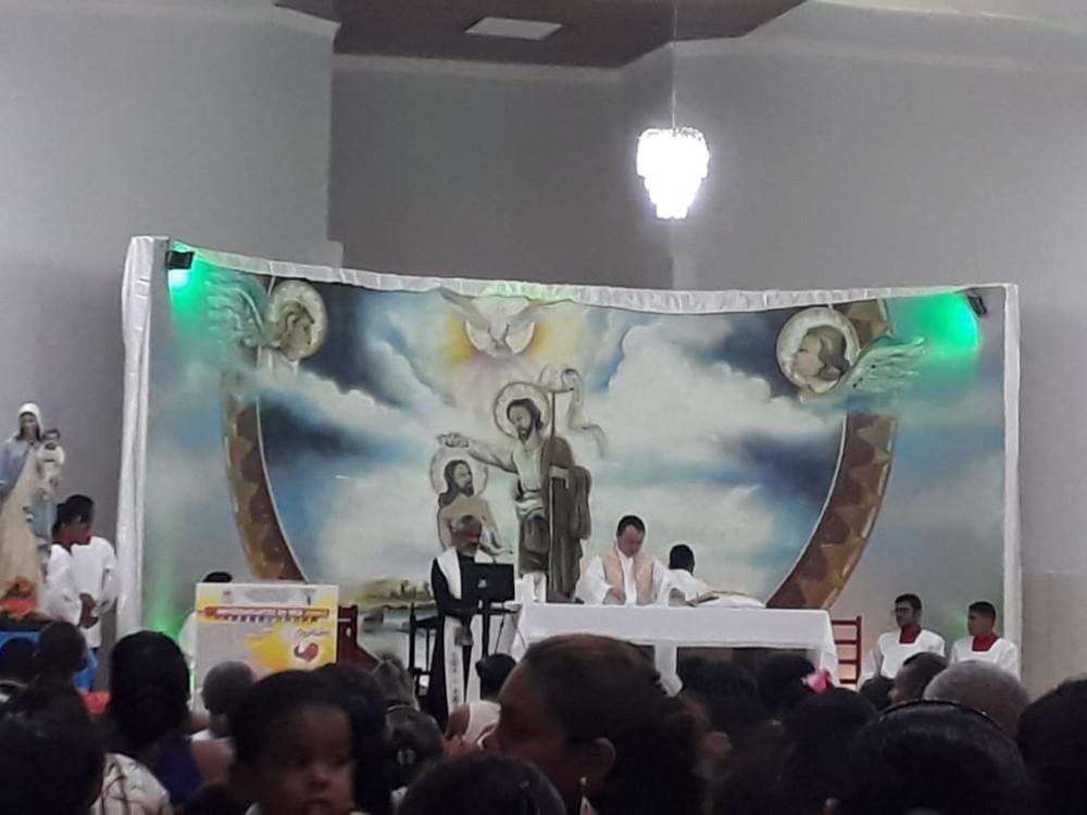Comunidade do Santinho festeja São João Batista