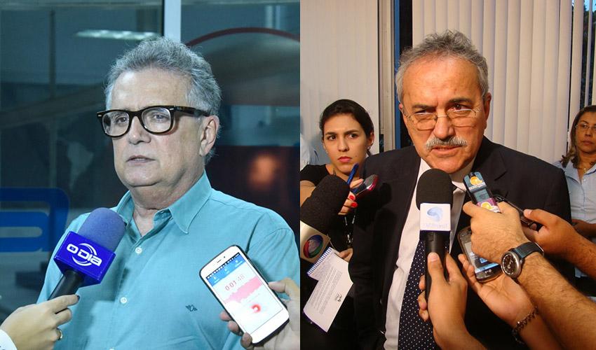 Flávio Nogueira e Átila Lira podem ser expulsos de seus partidos - Foto: Arquivo O Dia