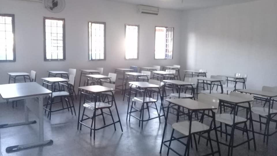 Escola Municipal Arimatéia Tito vai ser inaugurada brevemente a Reforma