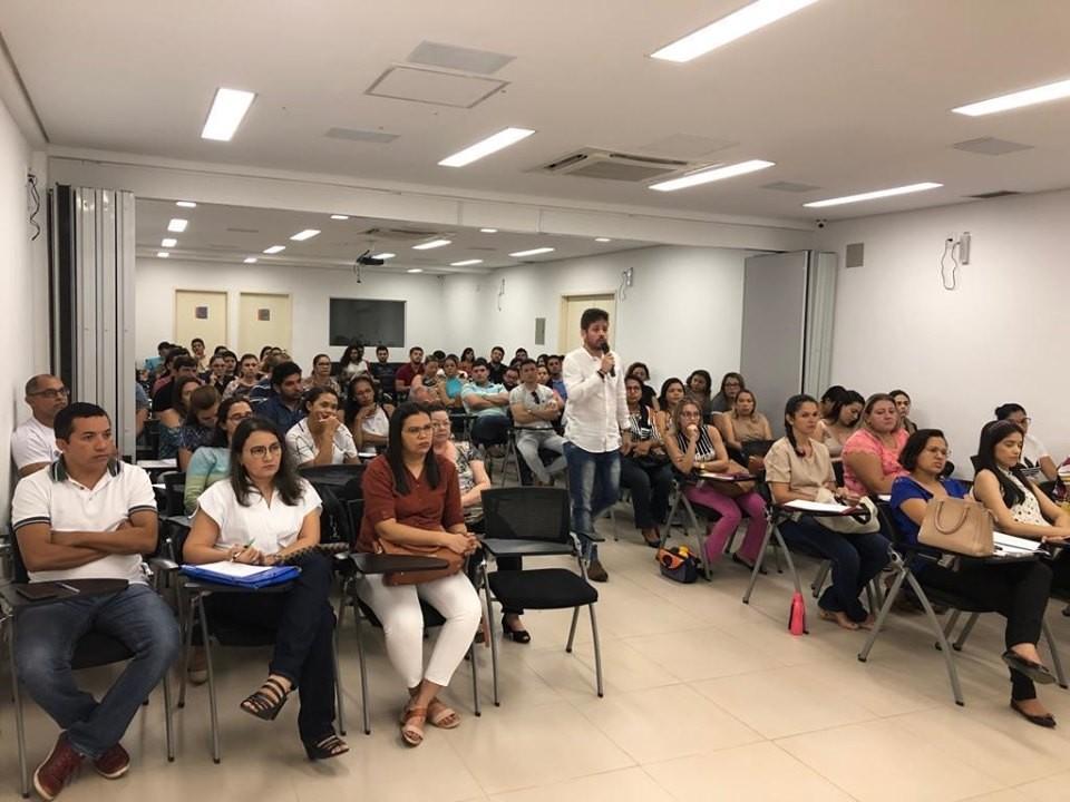 Governo de Barras PI capacita profissionais da saúde para o Prontuário Eletrônico do Cidadão na rede de Atenção Básica do Município