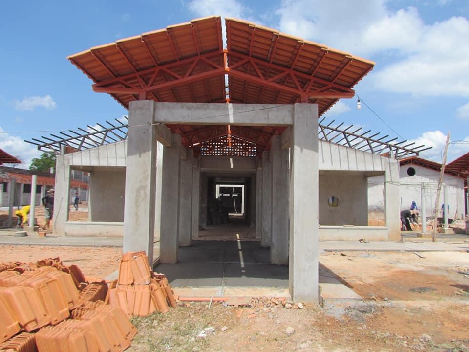 Obras da 'Escola Modelo' atinge 80% e deve ser entregue no início de 2020