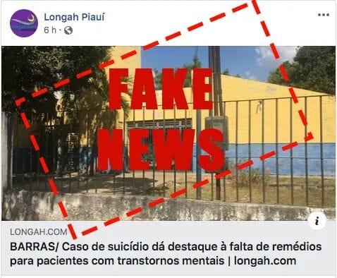 Print da Fake news