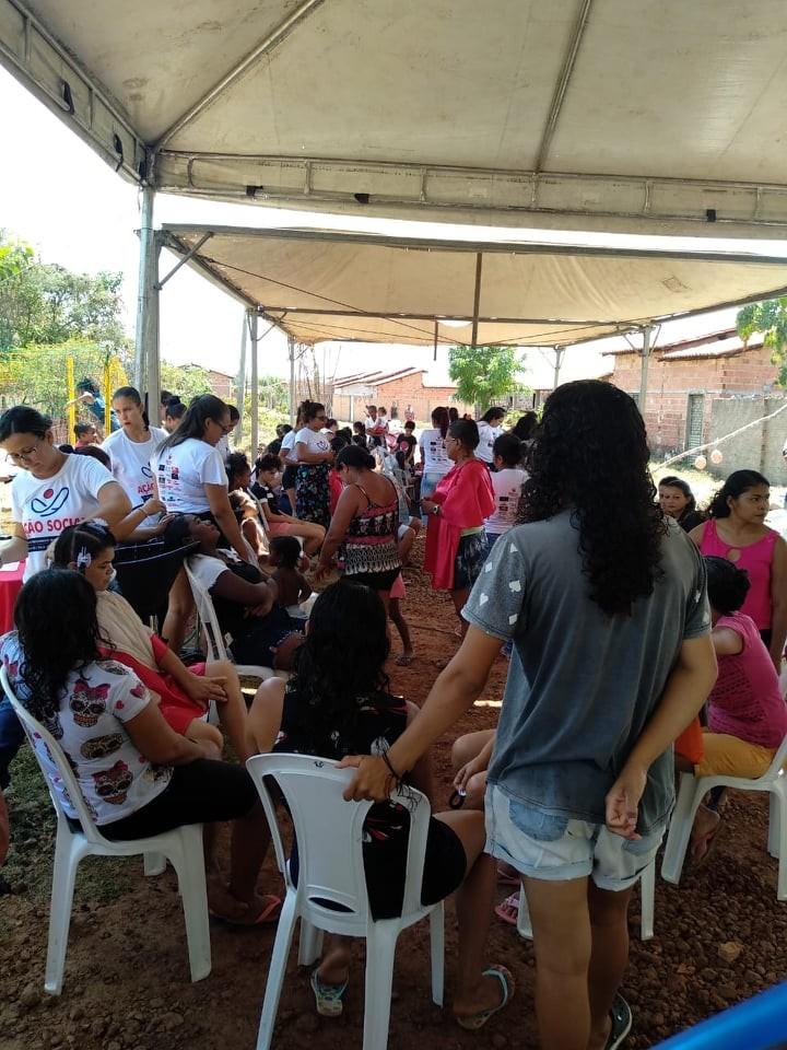 Profissionais do Hospital Leônidas Melo participam de Ação Social