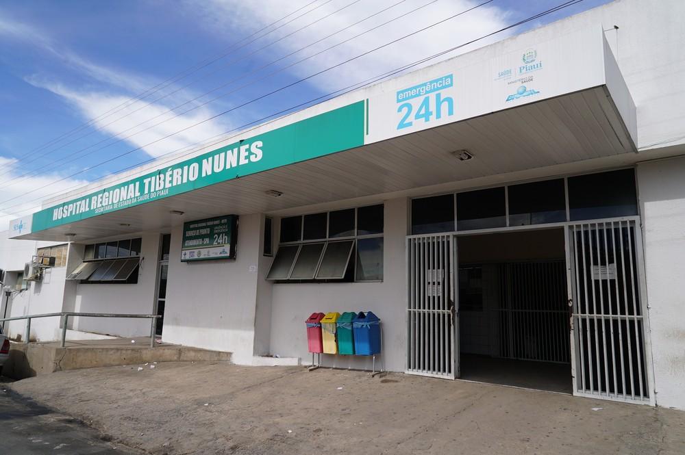 Bebê continua internado no Hospital Regional Tibério Nunes, em Floriano — Foto: Ascom/SesapiBebê continua internado no Hospital Regional Tibério Nunes, em Floriano — Foto: Ascom/Sesapi