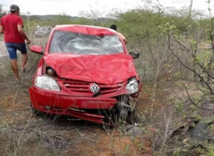 Veículo envolvido no acidente – Foto: WhatsApp