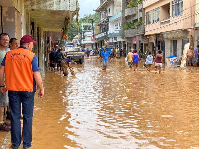 Iconha foi um dos munipios do Espírito Santo atingidos pelas chuvas - Assessoria de Comunicação do Governo/Divulgação/ Direitos Reservados