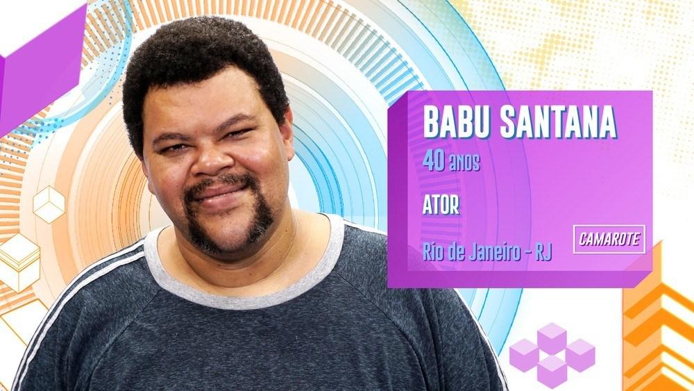 Nesta Edição tem um ator da Globo Babu Santana