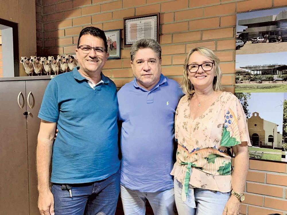 Chapão define Cinara Lages como vice de Edilson Sérvulo para as eleições 2020