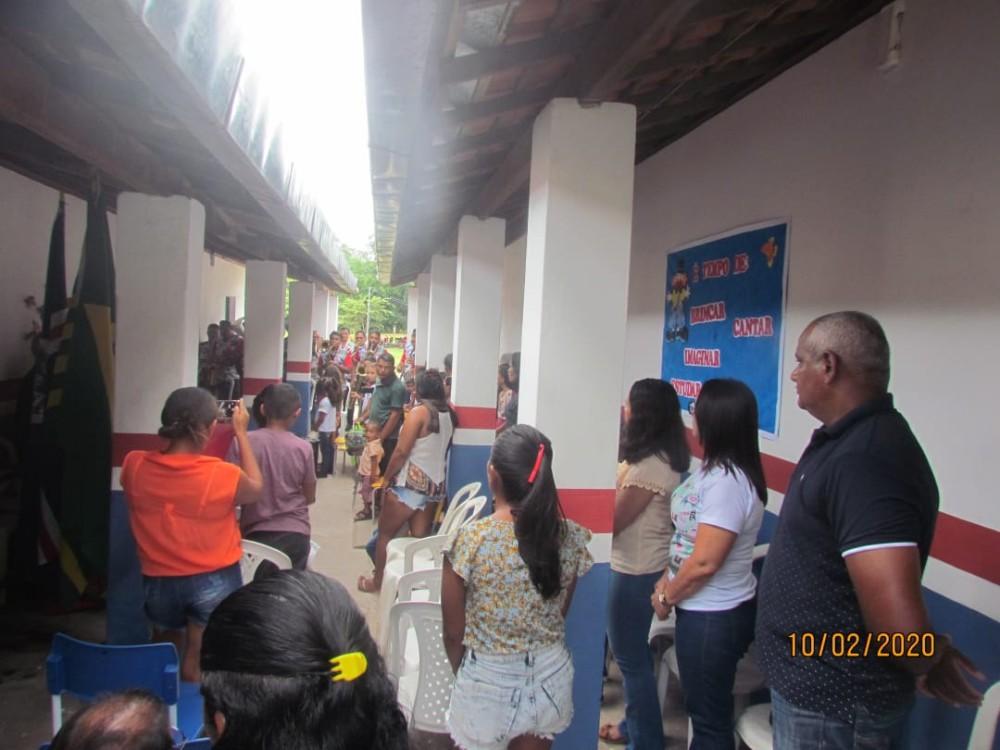 Escola municipal da localidade Mata Fria é reformada pelo governo de Barras PI