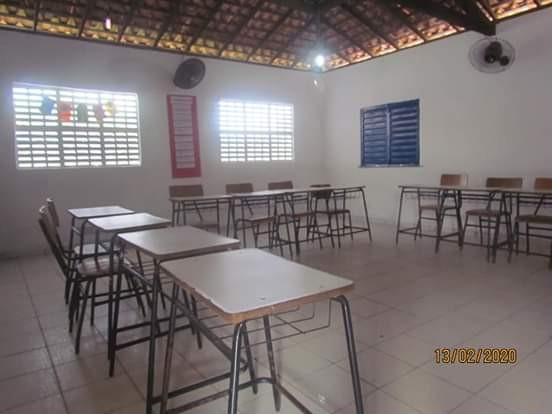 Escola da localidade Tabocas é entregue toda reformada pelo Governo de Barras PI