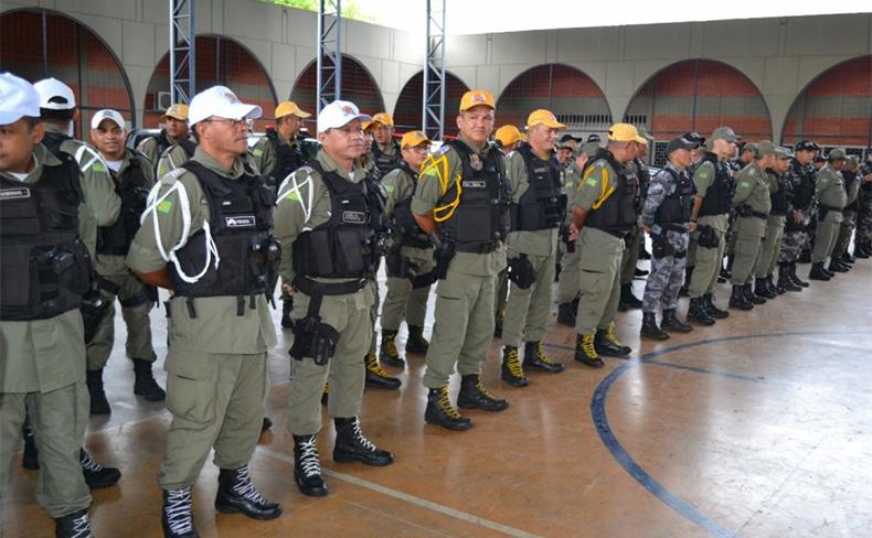 250 policiais devem reforçar segurança em Barras e mais oito cidades do Piauí