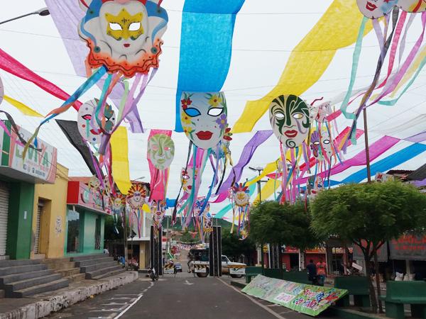 São Miguel do Tapuio está nos preparativos finais para o Carnaval 2020 - Fotos: Portal Samita