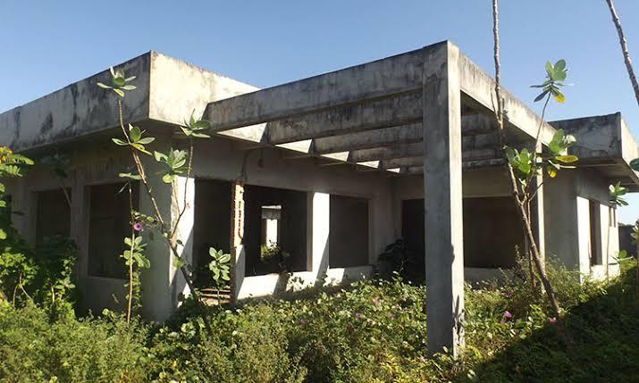 Creche abandonada em Barras PI