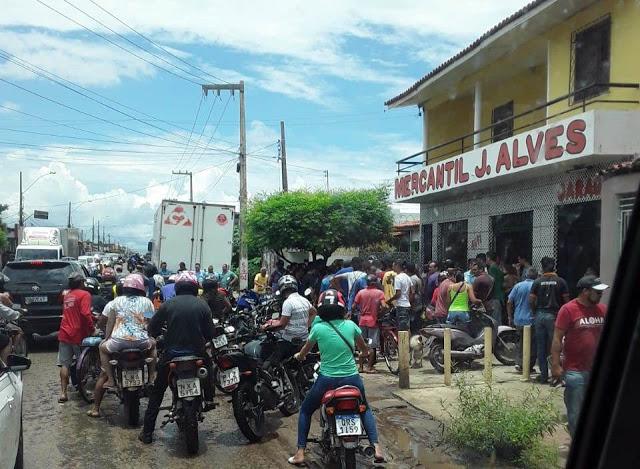 Comerciante baleado morre pouco depois de dar entrada no HEDA