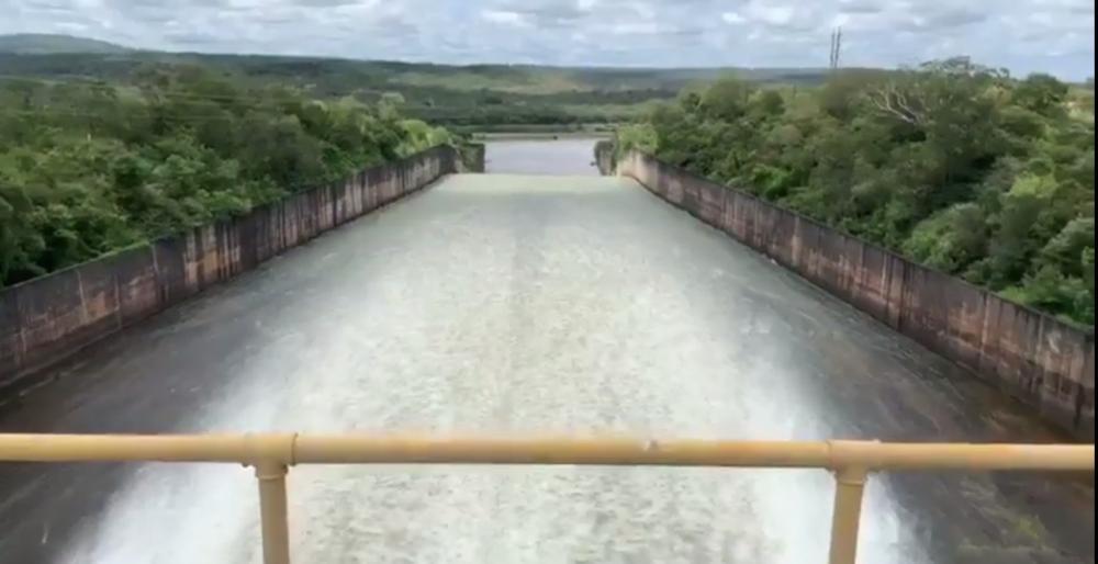 Chesf abre comportas de Boa Esperança no município de Guadalupe