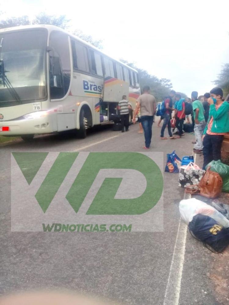 Denúncia: Para fugir da fiscalização ônibus vindos de São Paulo estão despachando passageiros antes de chegarem a cidades do PI