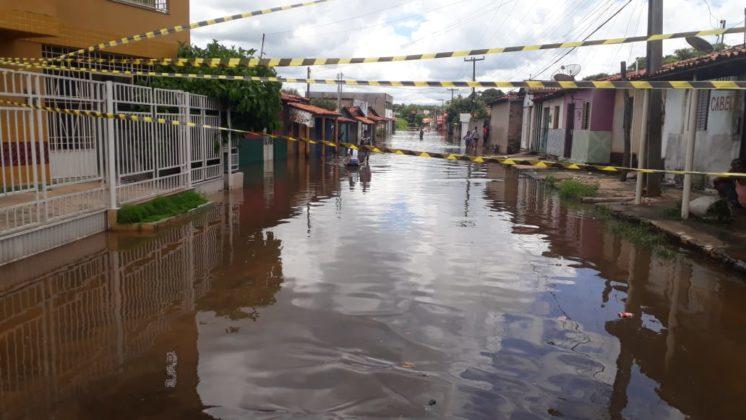 Dados oficiais apontam que Barras tem 1.005 pessoas e 120 famílias atingidas pelas cheias