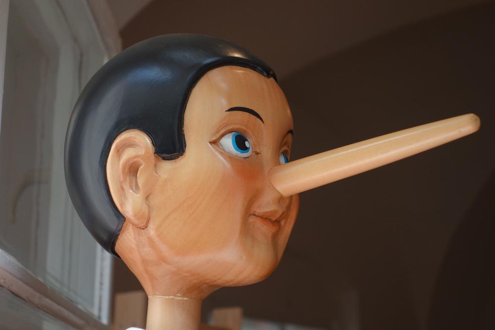 'A mentira tem perna curta', a verdade vem sempre à tona