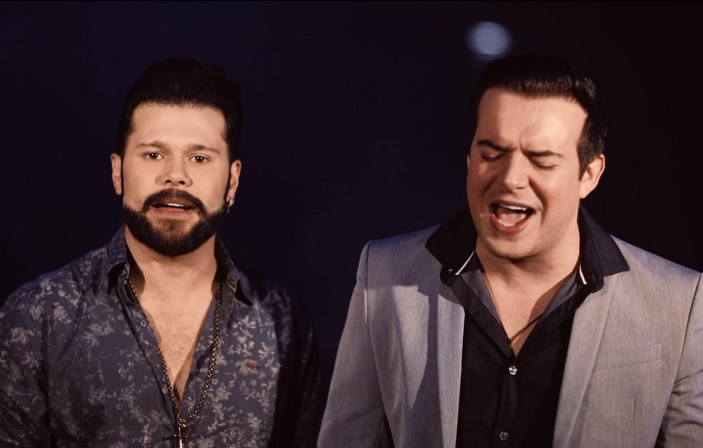 Marcos e Belutti comemoram 12 anos de carreira com show virtual nesta terça durante isolamento