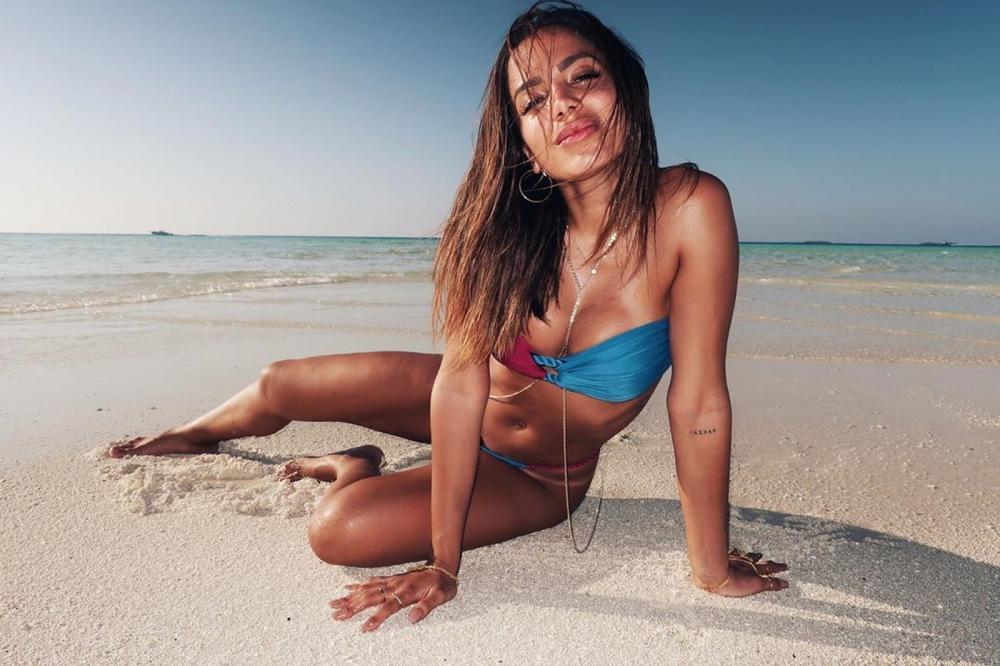 Anitta fez uma viagem romântica pelas Ilhas Maldivas — Foto: Reprodução/Instagram