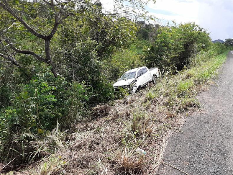 Uma pessoal morre em colisão frontal na BR-316