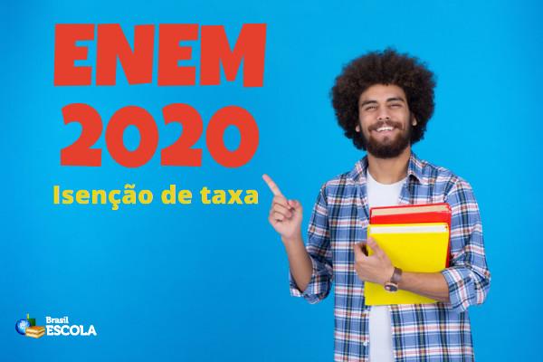 Candidatos podem pedir isenção da taxa do Enem a partir de hoje
