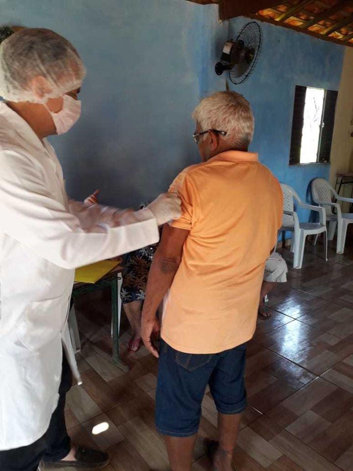Secretaria de Saúde de Barras realiza vancinação contra a Influenza