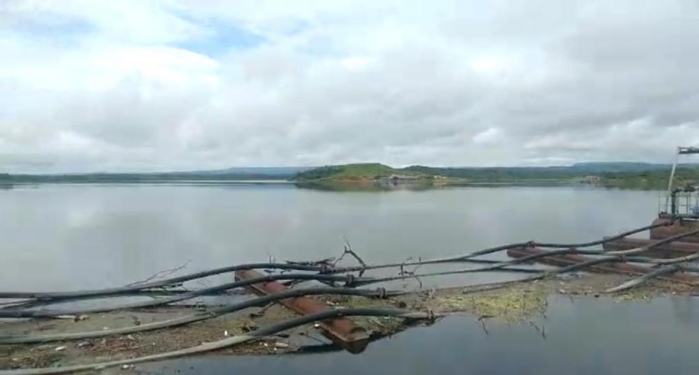 Barragem do Estreito em Francisco Macedo atinge mais de 90% da capacidade