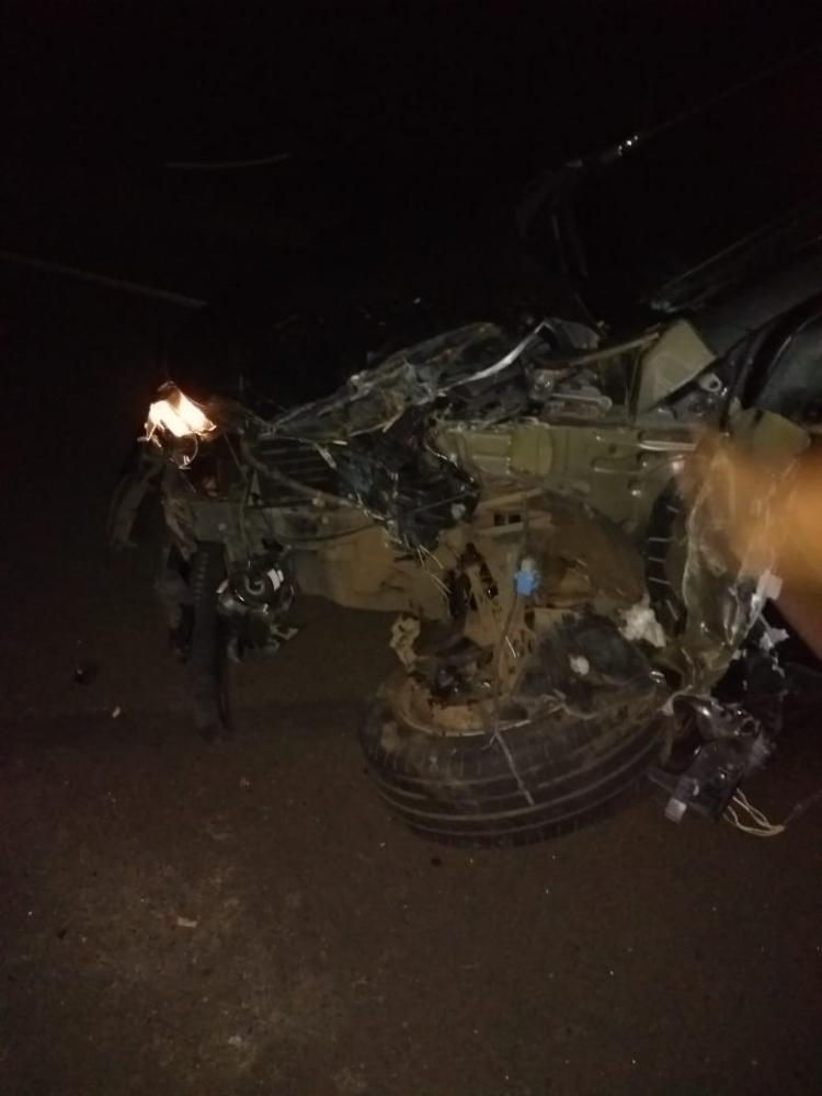 Jovem morre após ser atropelado por caminhão na PI-320de gás na PI