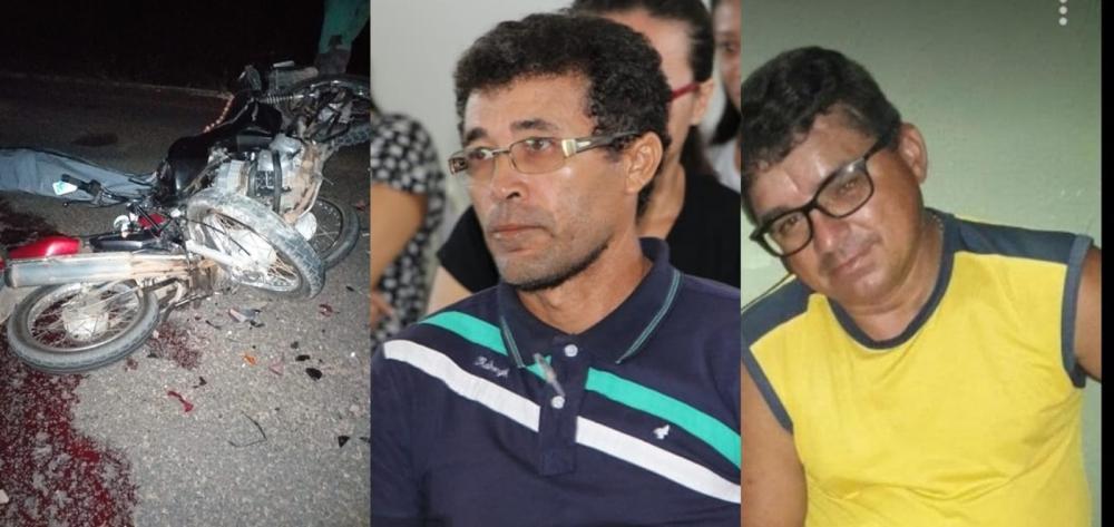Colisão frontal entre motocicletas mata dois homens em Belém do Piauí