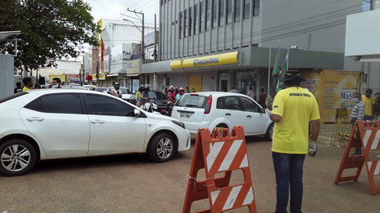 Prefeitura fecha ruas do centro da cidade de Picos
