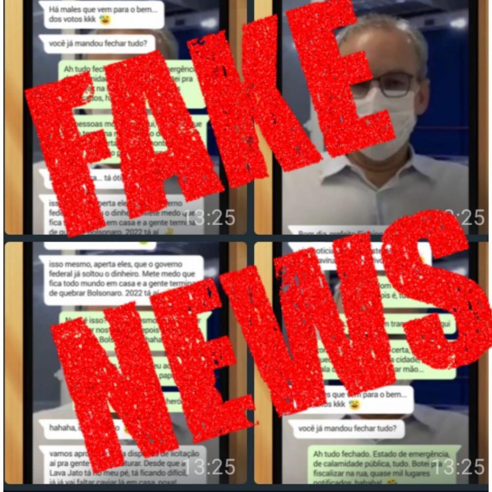 Prefeito entra com ação e Polícia investiga quem criou 'fake' envolvendo ele e Ciro Nogueira