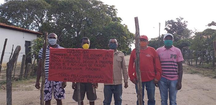 Assentamento rural no Piauí proíbe entrada de 'estranhos' para evitar contaminação por coronavírus