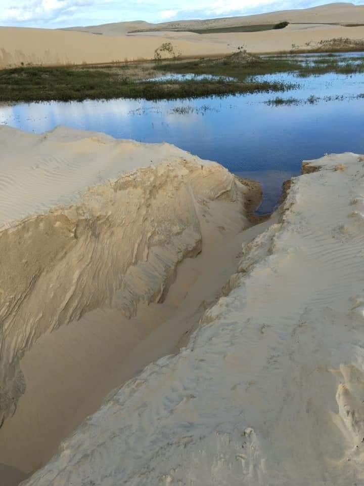 Água de famoso ponto turístico do Piauí pode está sendo desviada para psicultura