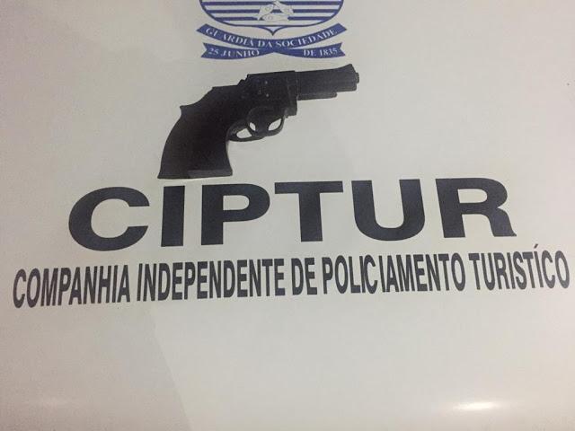 Polícia Militar prende homem com simulacro na rodoviária de Luis Correia