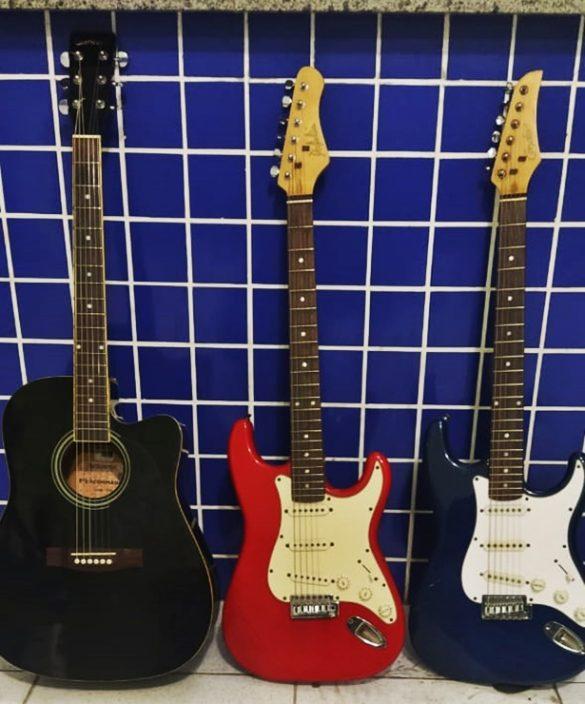 PM flagra homem com instrumentos musicais furtados no litoral do PI