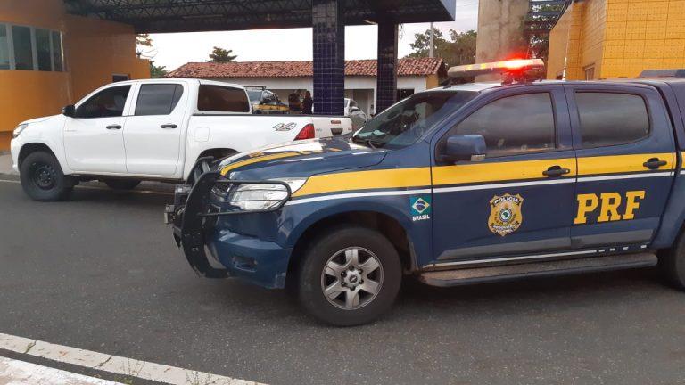 Polícia Rodoviária Federal apreende veículo de locadora furtado no RJ