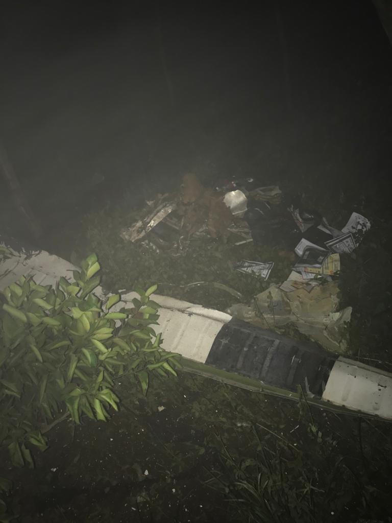 Avião de Teresina trazendo médico com Covid cai no Ceará