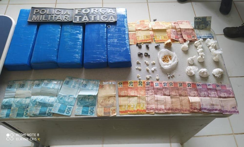 Mega Operação da PM apreende grande quantidade de drogas e traficantes no Piauí