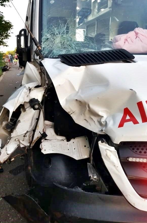 O acidente ocorreu na manhã desta terça-feira (19), na PI-211, em Buriti dos Lopes, Norte do Piauí.