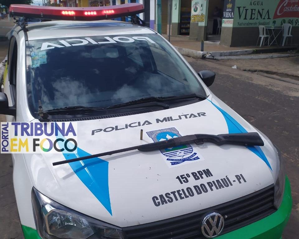 Homem é preso após ameaçar de morte o próprio irmão, em Castelo do Piauí